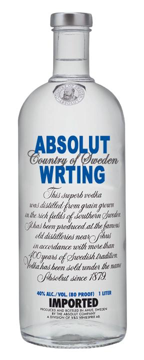 100 proof exertion of writing